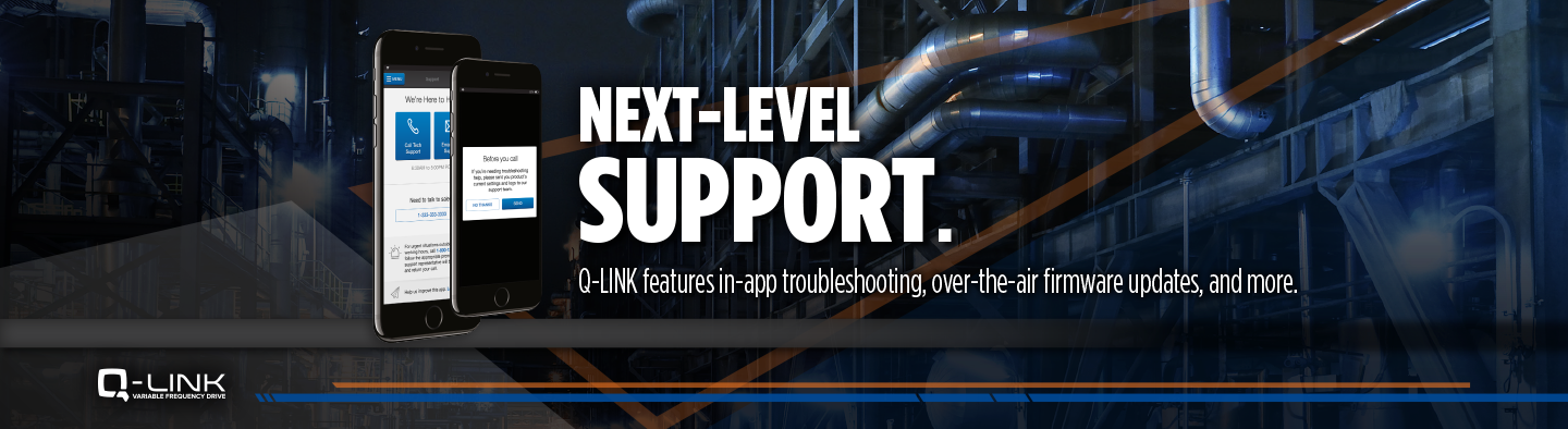 Next-level support Q-link
