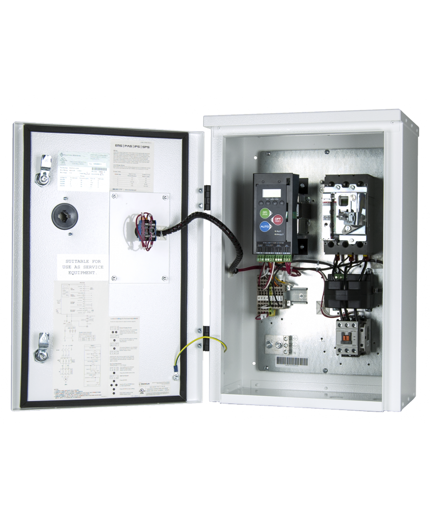 Intelligent Pump Starter Franklin Control Systems Examine This Threephase Motor Circuit Where Fuses Protect