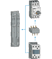 MMS-Contactro Mounting Unit for 63AF MIRA Contactor