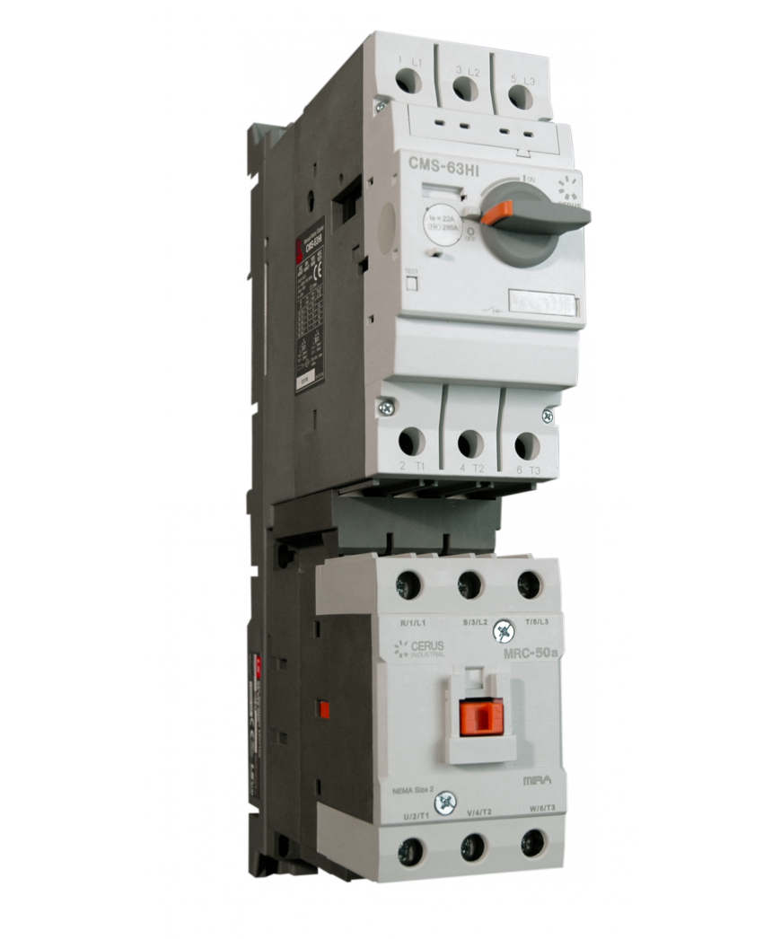 manual motor starter switch with overload protection