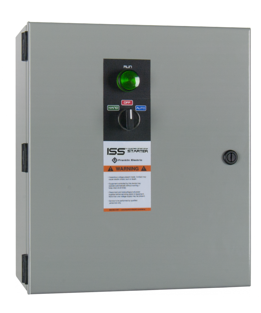 Industrial start stop franklin control systems for Stop start motor control